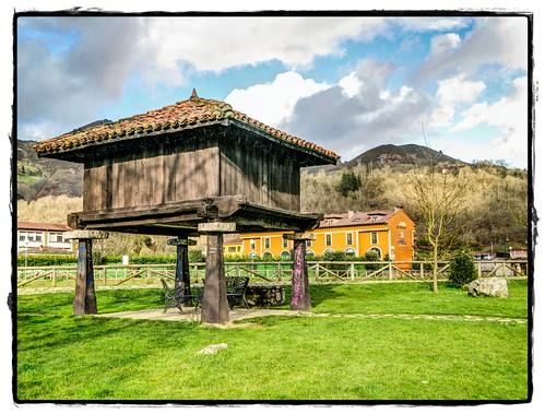 Hórreo, Cangas de Onís, Asturias