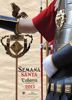 Cartel de Semana Santa de Tobarra 2013