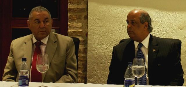Juan Daniel Balcacer y Vicente Bengoa