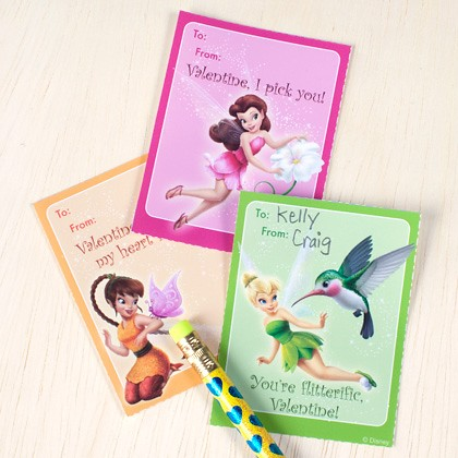 Disney Fairies Valentine's Cards