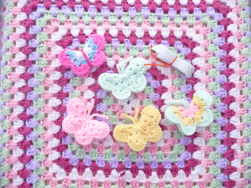 Butterflies and Ribbon for our Stash, many thanks!