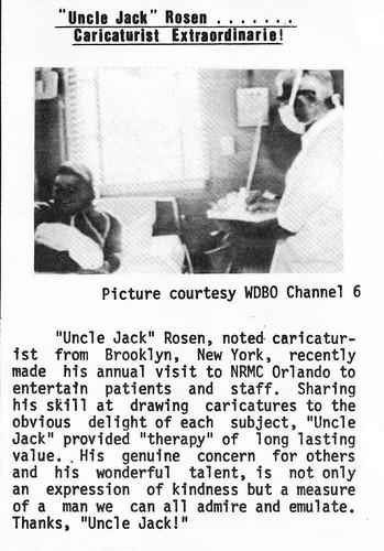 13-0032-006 Caricaturist Jack Rosen NRMC Orlando 197911