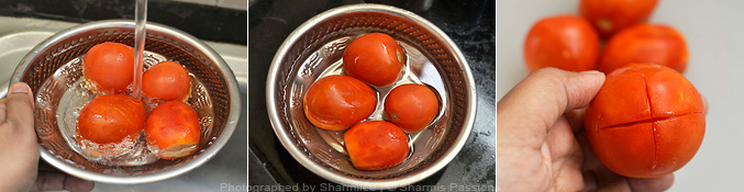 How to make tomato puree at home - Step1