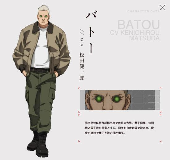 Batou(バトー)CV Kenichirou Matsuda(松田健一郎)