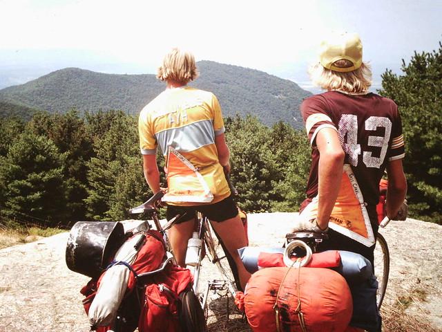 Doug Siple and Eric Chael Bikecentennial76