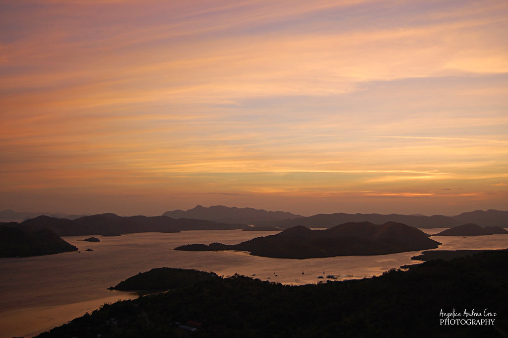 Sunset, Mt. Tapyas, Coron, Palawan, Philippines