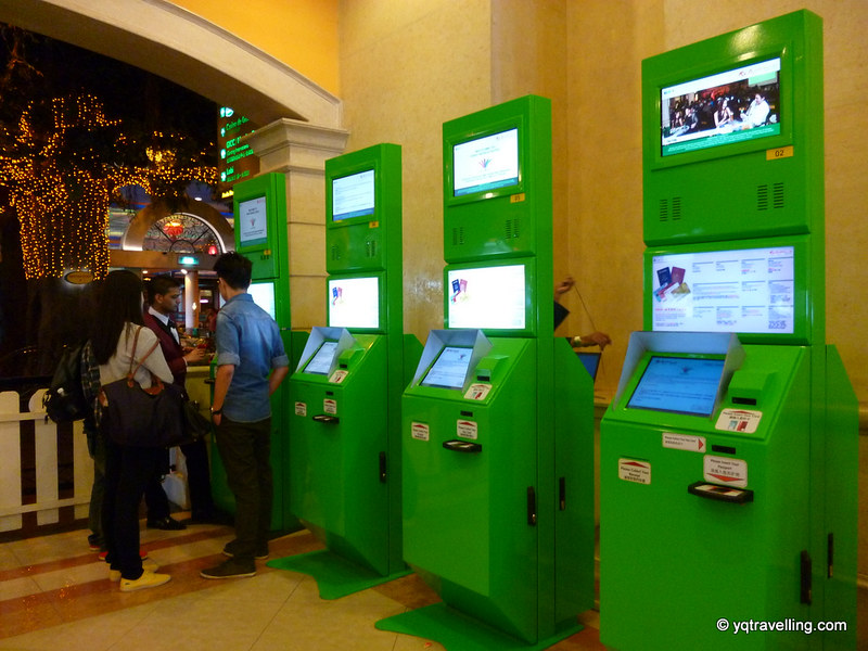 First World Hotel check in kiosk