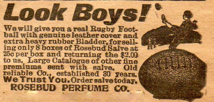 Rosebud Perfume Co 1923