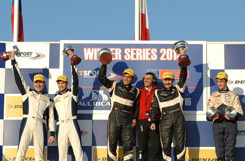 Winter Series Paul Ricard 2013 Carrera 2 - Pol Rosell 2º clasificado junto a Krisrill Ladygin