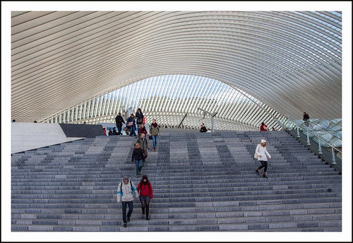 station guillemins Luik by hans van egdom