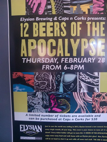 12 beers of the apocalypse @ Caps & Cork