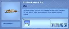 Puzzling Progeny Rug
