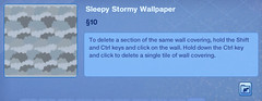 Sleepy Stormy Wallpaper