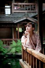 [Free Images] People, Women - Asian, Kimono / Yukata, Taiwanese People ID:201303170800