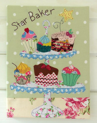 Star Baker Applique