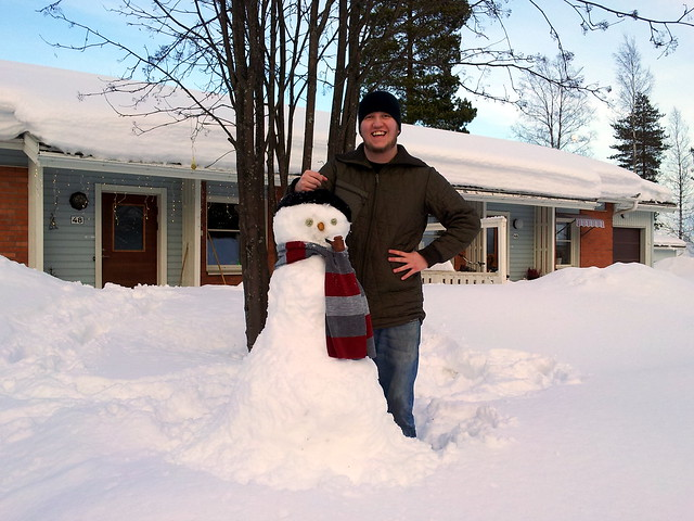 We're building a snowman - 2