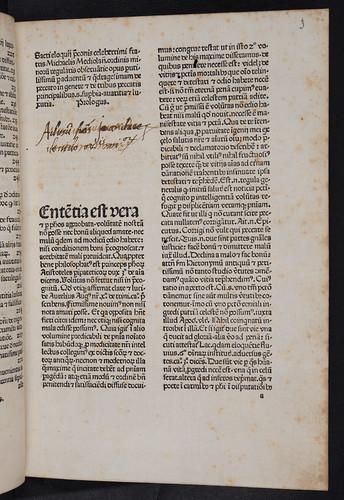 Title incipit of Carcano, Michael de: Sermonarium de peccatis per adventum et per duas quadragesimas