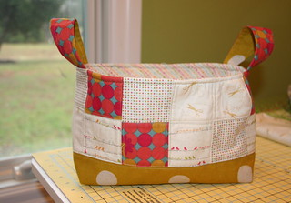 Fabric Basket swap with the VBMQG