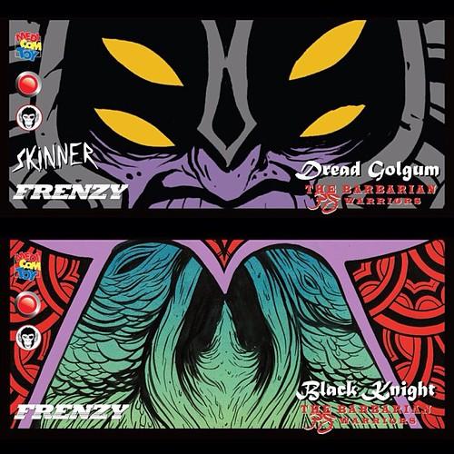 toysrevil header card art amp magazine snaps of dread