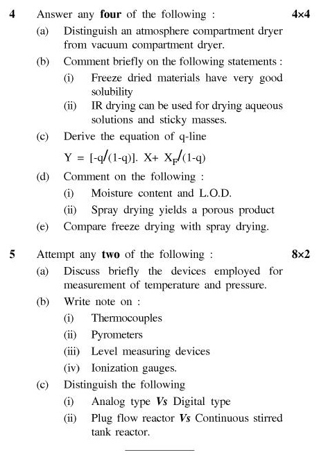 UPTU B.Pharm Question Papers PH-122(O) - Pharmaceutical Chemistry-II (Organic Chemistry-I) (Old)