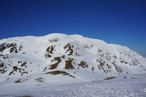 Looking North towards the summit ridge of Meall nan Tarmachan