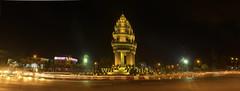 Independence at Night —  វិមានឯករាជ្យនៅពេលយប់។