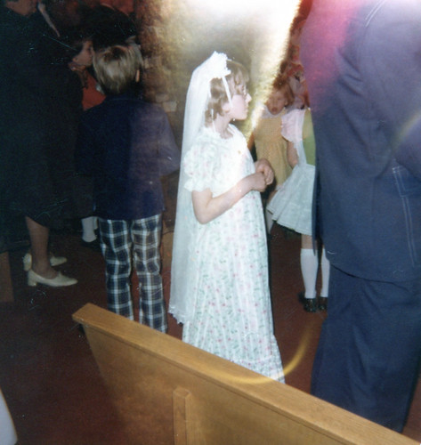 Me on my first communion