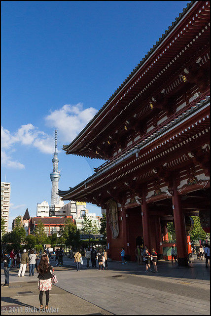 Houzoumon and Sky Tree