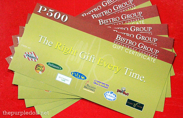 The Bistro Group Giveaway