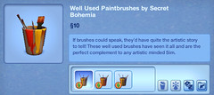 Well Used Paintbrushes by Secret Bohemia