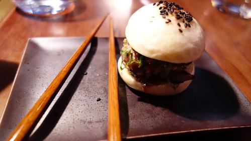 Japo-burger en Dos Palillos