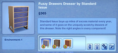 Fuzzy Drawers Dresser by Standard Issue