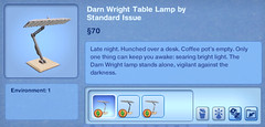 Darn Wright Table Lamp by Standard Issue