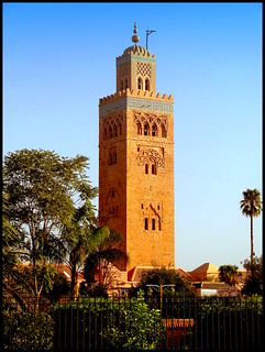 Morocco, Marrakesh. Koutoubia Mosque
