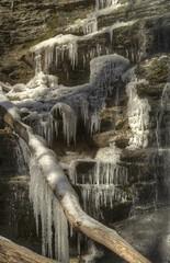 Upper Falls. Frozen