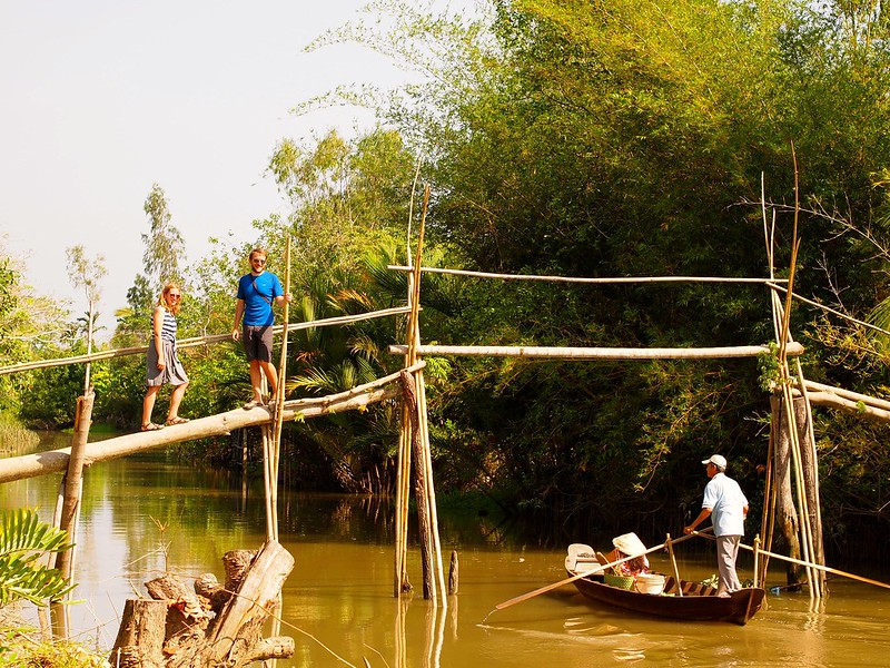 Where Are You Going, Where Have You Beenvs. Tall Tales from the Mekong Delta - Essay Example