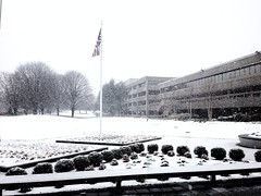 "Lockheed Martin HQ as  ""Snowquester"" begins"