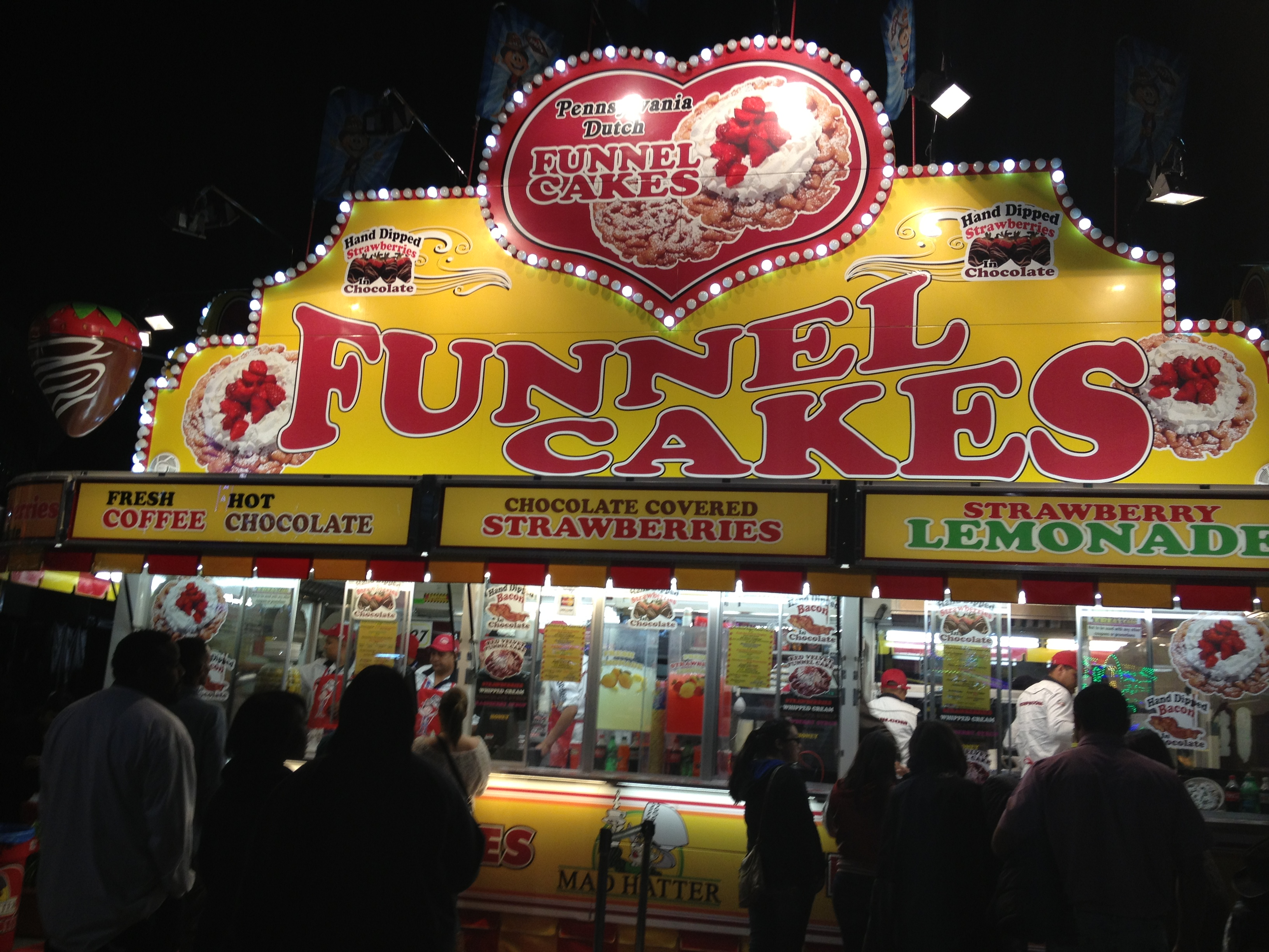 Can't go to the carnival/rodeo and not eat a funnel cake..