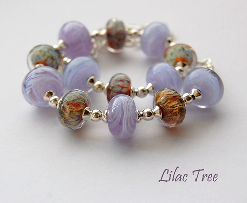 Lilac Tree Necklace by gemwaithnia