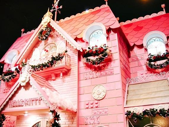 Sanrio Theme Park - Puroland - hello kitty house