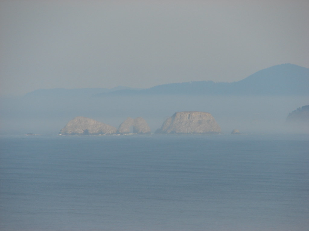 Storm Rock, Finley Rock, Shag Rock and Seal Rock