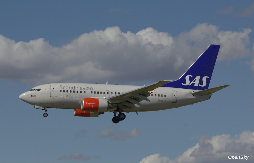 SAS Scandinavian Airlines Boeing 737-683 LN-RRZ (cn 28295)