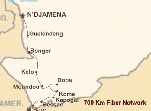 Chad Fibre Network