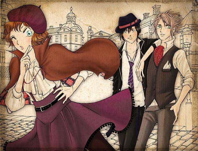 Illustration by manga artist Misako Rocks! Courtesy of Misako Rocks!