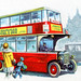 A London bus by daviddb