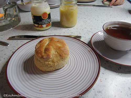 Scones mit Lime Curd