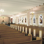 Sacred Heart of Mary Chapel Renovation Rendering