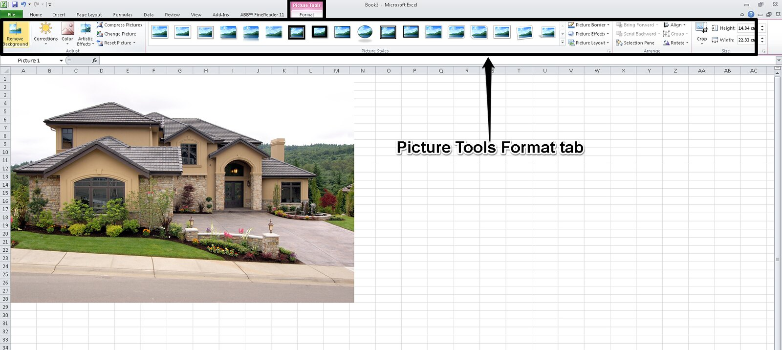 how to add picture in microsoft office 2010