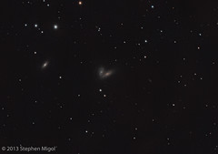 Siamese Twins Galaxies by S Migol