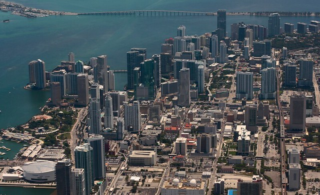City of Miami from up high